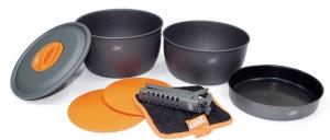 Komplet Aluminium Cookware 3 Standard Esbit