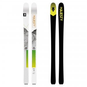 Narty SKITUROWE SUPERSCOUT - 146cm MAJESTY