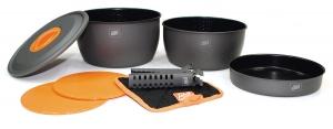 Komplet Aluminium Cookware 3 Non-Stick Esbit