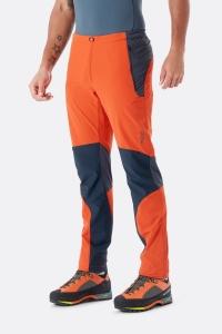 Spodnie męskie trekkingowe softshellowe  Torque Rab